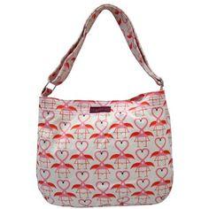 Amazon.com: Bungalow360 Lucille Flamingo Vegan Messenger Bag: Clothing