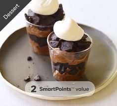 Dessert. Chocolate Mousse. 2 SmartPoints