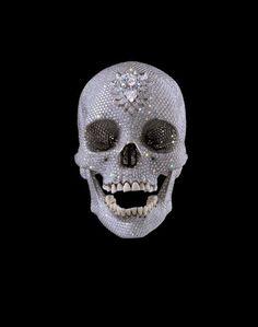 Cindy Sherman, Damien Hirst, Vanitas, Memento Mori, Bbc News, Elisabeth Quin, Diamond Skull, Gagosian Gallery, Art For Sale Online