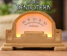 Dear friends welcome to another tutorial.In this tutorial we are going to build this Art Deco style Analog thermometer! The design of this thermometer is fantastic in my opinion. It is based on the design of a commercial thermometer that was designed 100 years ago. I made some changes to the design in order to fit inside modern electronics, a photoresistor to detect darkness, some LEDs to illuminate at night, and of course an Arduino as the brains of the thermometer. I 3D printed the…