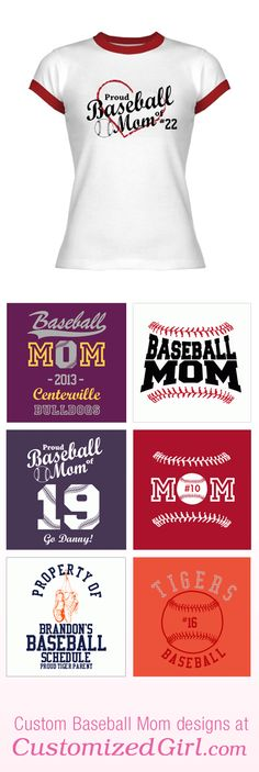 Baseball Mom Shirts! So cute @Cyndi Price Price Price Price York