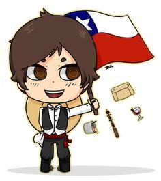 Viva Chile! by Beaku.deviantart.com on @DeviantArt