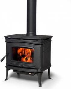 The Alderlea is a powerful, reliable source of heat with old world charm and unmatched durability. Foyers, Cast Iron Stove, Old World Charm, Mobile Home, Brisbane, Classic Style, New Homes, Home Appliances, Stainless Steel