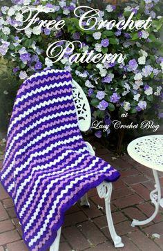Brunfelsia Inspired Crochet Throw, My Free Pattern