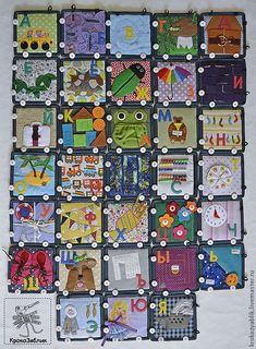 Купить Супер - АЗБУКА, развивающий массажный коврик - азбука, алфавит, развивающий коврик, развивающая игрушка