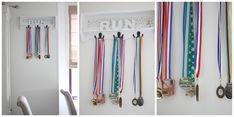 Medailles ophangen