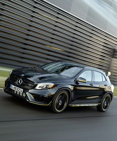 mercedes-benz GLA adds power and poise to the crossover at NAIAS 2017