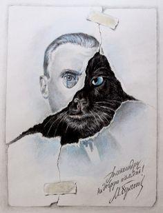 """14 вопрос - любимая книга, однозначно, """"Мастер и Маргарита"""" Булгакова"""