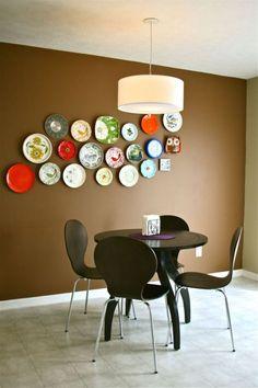 plate wall by dream green diy