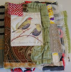 Crazy quilt fabric journal (4)