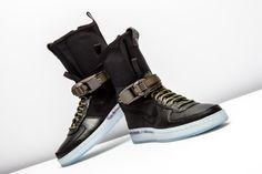Nike AF1 Downtown HI SP Acronym Black Medium Olive 57fccfd40