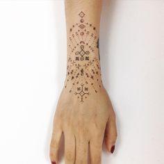 +Cosmic additions+ to @ryanjessiman's beautiful tattoo for @riinagram x