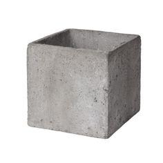 Granit.com - Kruka Betong Kub 21 cm | Granit.com