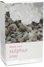 Jericho Dead Sea Sulphur Soap-4.4 Oz. by Jericho. $6.99. Used as a natural disinfectent for the skin. An alternative to treating a variety of skin disorders including psoriasis. This soap contains Dead Sea minerals with a high concentration of sulphur.. Used as an alternative approach to help treat a variety of skin disorders such as: psoriasis, acne, rosacea, and eczema. It is a natural disinfectant.