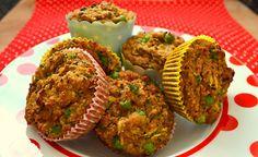 Vegane Gemüse-Muffins