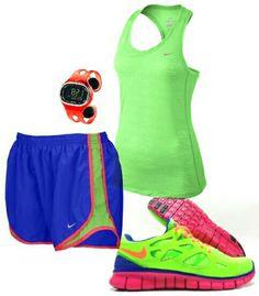 Womens fashion blue green nike outfit find more women fashion ideas on www.misspool.com