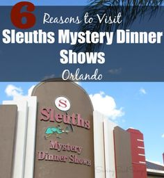 Unique Orlando attraction Sleuths mystery dinner shows