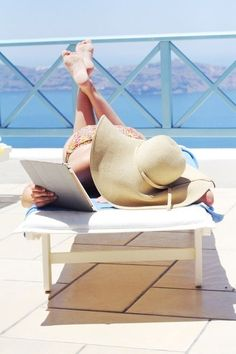 summertime lounging + reading