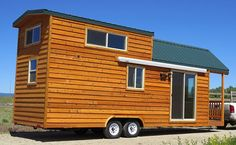 Spaceous Prefab Cabin on a Trailer