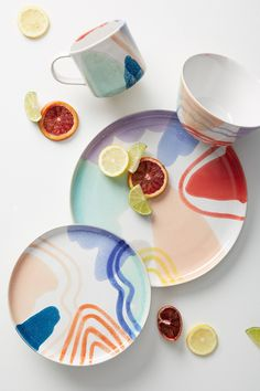 Georgi Dinner Plate | Anthropologie