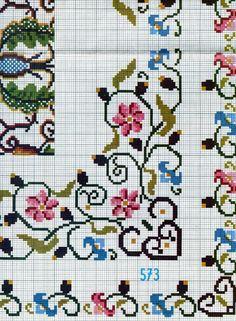 Cross stitch pattern Patrón de punto de cruz