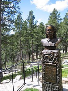 Wild Bill Hickok's Grave site, Deadwood, SD