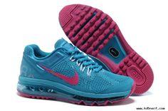 377e68c717ba Buy Womens Nike Air Max 2013 Blue Red Shoes 555763-400 Nike Air Max Sale