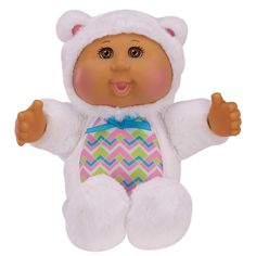 Cabbage Patch Kids Cuties 9 inch Polar Bear Around the World - Brown eyes Ty Toys, Toys R Us, Polar Bear, Teddy Bear, Cabbage Patch Kids Dolls, Babies R Us, Kids Store, Doll Accessories, Childhood Memories