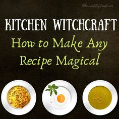 Wiccan Spells, Witchcraft, Magic Spells, Magick Book, Wicca Recipes, Quiche, Kitchen Witchery, Kitchen Magic, Kitchen Recipes