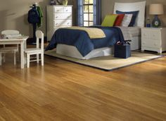 "1/2"" x 5"" Click Strand Carbonized Bamboo  favorite flooring option so far, good reviews, good price, easy click installation, good medium color (not too light)"