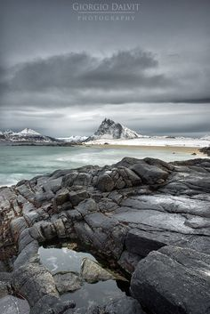 Flakstadøya beach on Lofoten island by Giorgio Dalvit on 500px