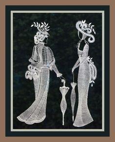 Опять к боковой подушки 2: Fabric Stiffener, Bobbin Lacemaking, Lace Art, Bobbin Lace Patterns, Lace Jewelry, Lace Making, String Art, Pattern Paper, Crochet Stitches
