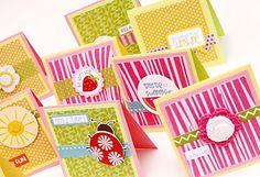 Altered Mailbox & Notecard Set, by Beth Gerlach.