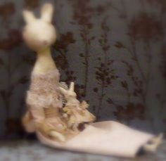 Prim and Elegant Bunnies Created by Me