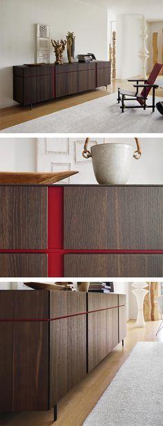 Das moderne Sideboard Abaco ist Grifflos, über farblich abgesetzte Griffkerben können die Schubladen und Türen geöffnet werden. Das Sideboard ist in sechs Farben erhältlich. #Sideboard #Anrichte #Schrank #Wohnbereich #Wohnzimmer #livingroom #home #einrichten #wohnen #Inneneinrichtung #interiordesign #interiordecoration #modern #zeitlos #wohntrend #wohntrends #wohnstil #Inspiration #Livarea