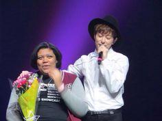 Donghyun solo serenade Picture from BOYFRIEND's Chicago US Showcase Concert.