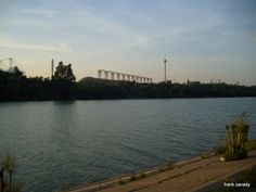 The River & the Cartuja Island - El Rio y la Isla de la Cartuja