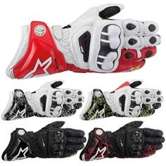 2014 Alpinestars GP Pro Leather Motorcycle Gloves