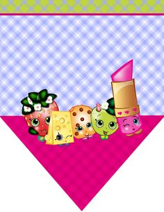 Shopkins Printable Birthday Party Digital Files by aFriendDesigns