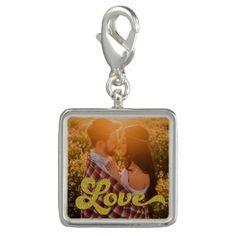 #photo - #Custom Photo with Gold Love Charm