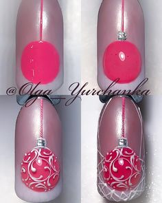 """If you're unfamiliar with nail trends and you hear the words """"coffin nails,"""" what comes to mind? It's not nails with coffins drawn on them. It's long nails with a square tip, and the look has. Nail Art Noel, Xmas Nails, New Year's Nails, Christmas Nail Art, Holiday Nails, Fun Nails, Hair And Nails, Christmas Ornament, Christmas Christmas"""