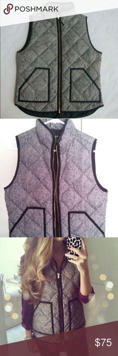 J crew tweed vest Only worn once Jackets & Coats
