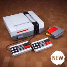 La console NES, enfin en Lego