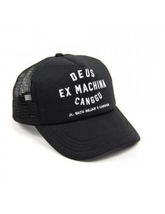 DEUS Canggu Address Trucker cap - Black