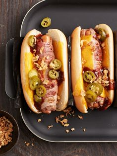 Bacon burger dog, a delicious recipe from the beef category. Ratings: Average: Ø Bacon burger dog, a delicious recipe from the beef category. Ratings: Average: Ø Bacon Sandwich Recipes, Hot Dog Recipes, Burger Recipes, Grilling Recipes, Beef Recipes, Pizza Recipes, Burger Co, Dog Snacks, Street Food