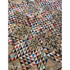 Laundry Basket Quilt of the Day - Triangle Star