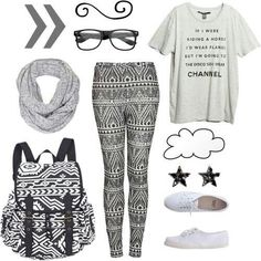 Outfit for a day out with friends.