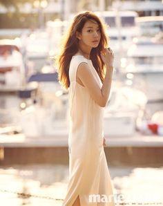 Shin Min Ah Shows Off Her Beauty in 'Marie Claire' Photoshoot Girl Photo Poses, Girl Poses, Bokeh, Korean Beauty, Asian Beauty, Korean Celebrities, Celebs, Asian Woman, Asian Girl