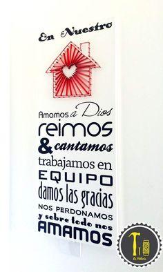 1000 images about decora tu hogar con el arte del hilo on for Adornos para el hogar