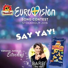 Este fin de semana tenemos el festival de #Eurovisión y ahí estaremos nosotros con nuestro lote de #Picoteo para ver la mejor variedad #musical con el mejor surtido de #snacks.   ¿Quién creéis que ganará esta edición? ¿Puede ser el año de #España?   ¡Coméntalo con nosotros! ✌️